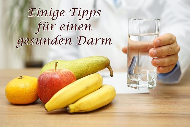 Gesunder Darm - einige Tipps